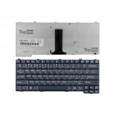 Клавиатура для ноутбука Lenovo E43 Series. Плоский Enter. Черная, без рамки. PN: 25-009266, AELL3U00120.