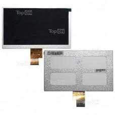 "Матрица для планшета 7.0"" 1024x600, 40 pin,LED для EXPLAYMID-725TEXETM-7022ICONBITNetTab Slim Pro RAMOS w17.Замена:EJ070NA-01JAT070TNA2 V.1Серебряная"
