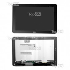 "Матрица для планшета 10.1"" 1280х800, 40 pin, для LED Acer iconia Tab A210, A211. Замена: B101EVT05 H/W: 0A Черная"