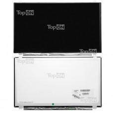 "Матрица для ноутбука 15.6"" 1920x1080 FHD, 40 pin LVDS, Slim, LED, IPS, крепления сверху/снизу (уши), матовая. PN: LP156WF4 (SL)(B1)."