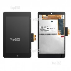 "Дисплей (матрица и тачскрин) для планшета 7.0"" 1280х800, 40 pin, LED, глянец, Asus Google Nexus 7, без рамки. CLAA070WP03 HV070WX2-1EO"
