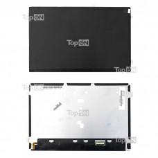 "Матрица для планшета 10.1"" 1280х800, 30 pin, крепления уши со всех сторон, для LED Asus Eee pad Transformer TF201. Замена: HSD101PWW2 A00 A01 Черная"