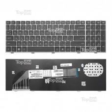 Клавиатура для ноутбука HP ProBook 4540s, 4545s, 4740s Series. Плоский Enter. Черная, PN: 701485-251, 9Z.N6MSW.10R.