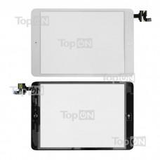 "Сенсорное стекло (тачскрин) для планшета Apple iPad Mini 7.9"" 1024x768, IPS LED. Оригинал. Белый, с платой контроллера"