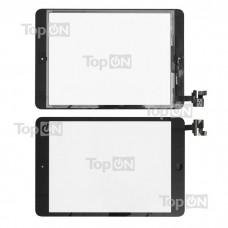 """Сенсорное стекло (тачскрин) для планшета Apple iPad Mini 7.9"""" 1024x768, IPS LED. Оригинал. Черный, с платой контроллера."""