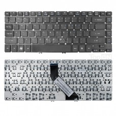 Клавиатура для ноутбука Acer Aspire V5-431, V5-471, M3-481, M5-481 Series. Черная без рамки. PN: NSK-R2SSW 0R, 9Z.N8DBW.H0R.