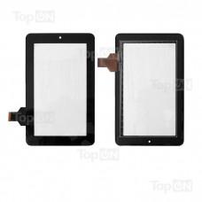 """Сенсорное стекло (тачскрин) для планшета Texet TM-7024, Onda V702 7"""" 800x480, GG706S. Оригинал. Черный."""