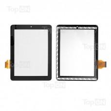 """Сенсорное стекло (тачскрин) для планшета Texet TM-8041HD, Onda V801 V811 (dual core) VI30 8"""" 1024x768. 300-L3759A-A00-V1.0. Черный."""