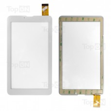 """Сенсорное стекло (тачскрин) для планшета Explay S02 3G / Explay  Leader 7"""" 1024x600. Оригинал. Белый."""