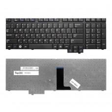 Клавиатура для ноутбука Samsung R718, R720, R728, R730, E272, E372, M730 Series. Плоский Enter. Черная, без рамки. PN: BA59-02531D, CNBA5902531CBIL.