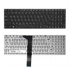 Клавиатура для ноутбука Asus X550С, X551C, X750J, A550C, A750L Series. Плоский Enter. Черная, без рамки. PN: 9Z.N8SSU.40R, 0KN0-N32RU.