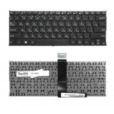 Клавиатура для ноутбука Asus X200CA, F200CA, F200LA, X200LA, F200MA, X200MA Series. Плоский Enter. Черная, без рамки. PN: 0KNB0-1123RU00, 13NB03U2AP0402.