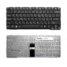 Клавиатура для ноутбука Sony Vaio E14, SVE14 Series. Г-образный Enter. Черная, с черной рамкой. PN: 149115111RU, 9Z.N6BBF.R0R.