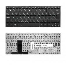 Клавиатура для ноутбука Asus UX31, UX32 Series. Г-образный Enter. Черная, без рамки. PN: PK130SQ415S, 0KNB0-3624RU00.