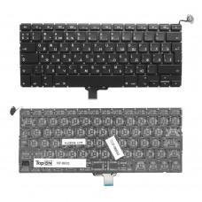 """Клавиатура  для ноутбука MACBOOK PRO 13"""" UNIBODY A1278 2008-2012 Горизонтальный ENTER. Черная."""