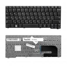 Клавиатура для ноутбука Samsung N140, N144, N145, N148, N150,NB20, NB30 Series. Плоский Enter. Черная, без рамки. PN: CNBA5902686CBIL , BA59-02708C.