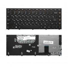 Клавиатура для ноутбука Lenovo Yoga 13 Series. Г-образный Enter. Черная, с черной рамкой. PN: 9Z.N7GPN.P01, 25202908, T3SM-US, NSK-BCPPN.