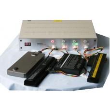 Четырехканальный тестер аккумуляторных батарей для ноутбука Серебристый