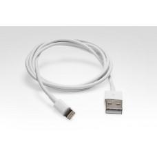 Lightning кабель для подключения к USB. Поддержка iOS8. Подходит для Apple iPhone 6 Plus, iPhone 6, iPad 4, iPad mini Замена: MD818ZM/A Белый